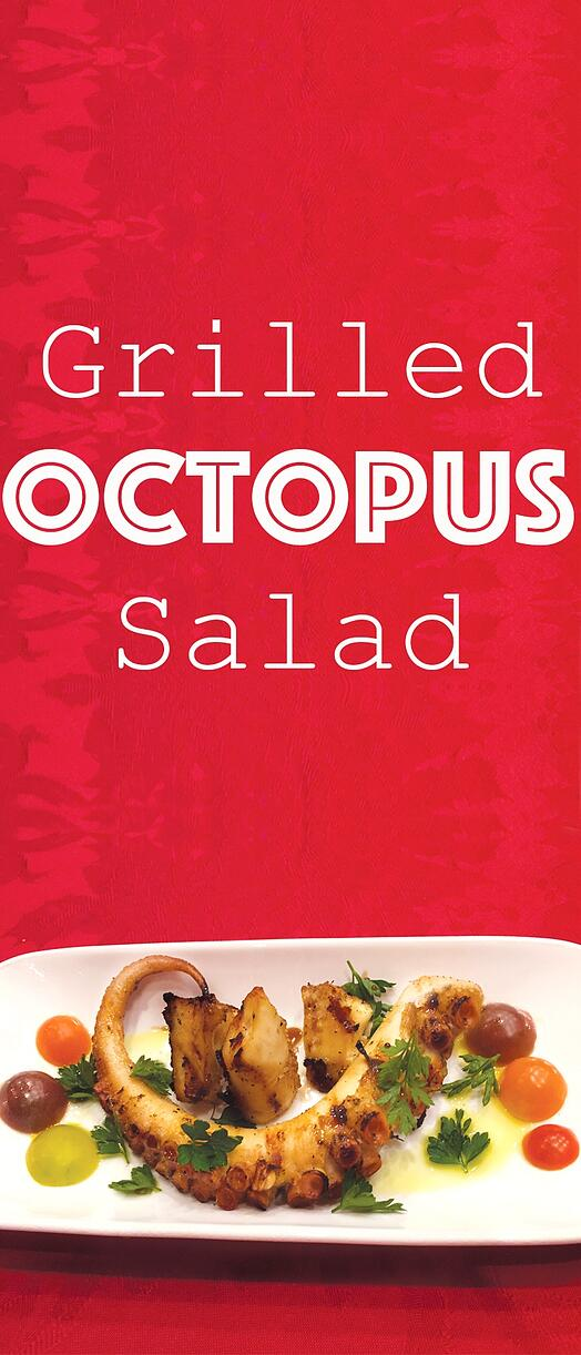 Grilled Octopus Salad: A Healthy International Delicacy