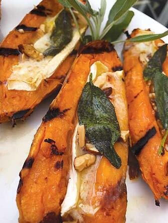 Grilled Sweet Potatoes Supporting a Healthy and Tasty Diet